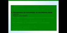 2º ESO / Tema 3 -> Punto 2 - Mecanismos de transmisión de movimiento lineal