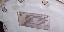 Placa identificativa de un avión
