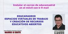 Configurar k-9 mail en el móvil