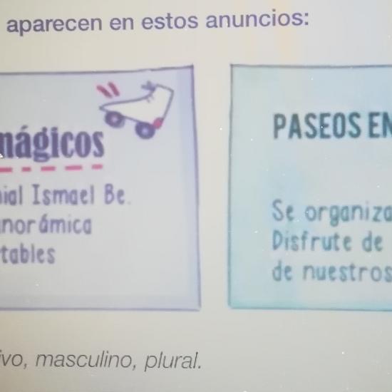 EJERCICIOS LENGUA2 8 DE MAYO