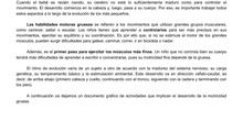 INFANTIL 3 AÑOS - SIN MATERIA - LA MOTRICIDAD GRUESA