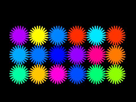 Crea tu tapiz de flores