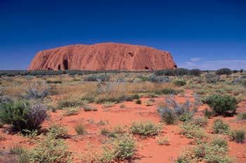 Monolito Uluru o Ayers Rock, Parque nacional Uluru-Kata Tjuta