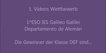 1ºDEF Concurso de vídeos en alemán