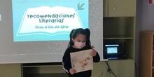 Recomendación literaria del grupo mixto de primaria