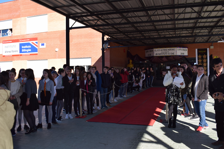 Visita al instituto Alfonso Moreno 2018 2