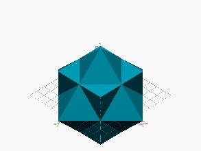 Estrella derivada de Cubo y Octaedro