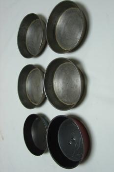 Moldes de tartaletas redondas