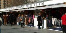 Feria de artesanía en Príncipe Pío, Madrid
