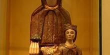 Virgen con niño. Rodellar, Huesca