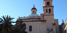 Torre y cúpula, Catedral de Alicante