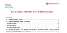 Guía Secretaría Virtual