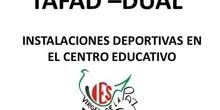INSTALACIONES DEPORTIVAS TAFAD DUAL IES VIRGEN DE LA PAZ