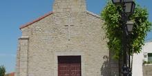 Campanario de iglesia en Santa María de la Alameda