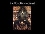 La filosofía medieval