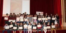 Entrega de los premios del IX Concurso de Narración y Recitado de Poesía 40