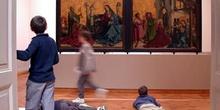 Estudiantes en el Museo de Arte e Historia de Ginebra, Suiza