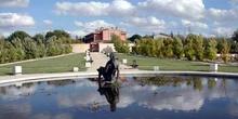 Efigie de Leda, Villaviciosa de Odón, Comunidad de Madrid