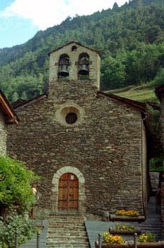 Iglesia de Sant Cerni de Llorts, Principado de Andorra