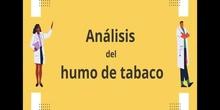 Jornadas de Salud: Análisis del humo del tabaco
