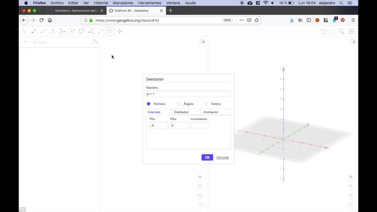 Números cúbicos en Geogebra 3D | Mediateca de EducaMadrid