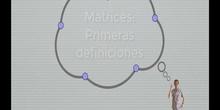 Matrices 1 - Primeras definiciones