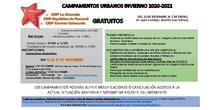 CAMPAMENTOS URBANOS DE INVIERNO