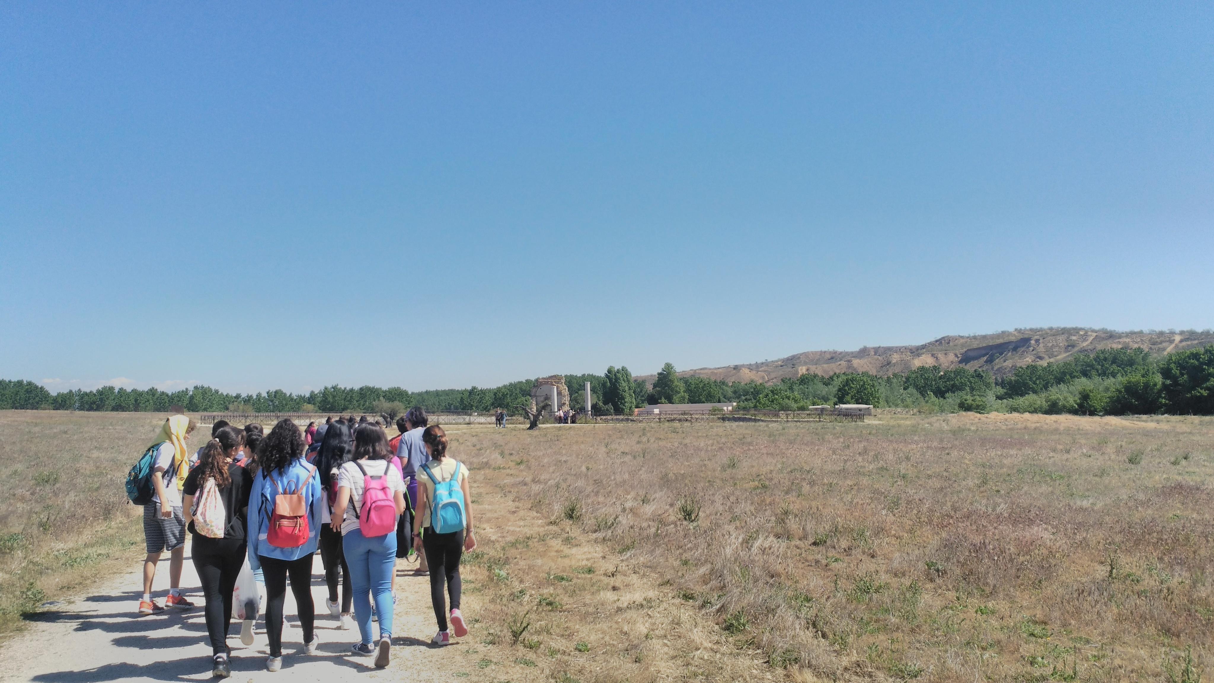 Parque arqueológico de Carranque. 1º ESO. 3 Mayo 2017 4