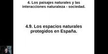 0409 Los espacios naturales protegidos en España