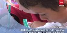 Ocho de cada diez alumnos de 6º de Primaria han aprobado la prueba CDI
