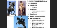 10.7. La escultura barroca española