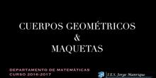 Cuerpos geométricos y maquetas