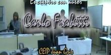 """""""CARLO FABRETTI en el CEIP Juan Gris de Madrid"""""""
