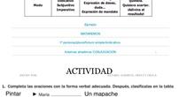 PRIMARIA 6º - LENGUA CASTELLANA Y LITERATURA - VERBO Y SUS ACCIDENTES