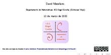 Soluciones de la hoja de ecuaciones. 2º ESO