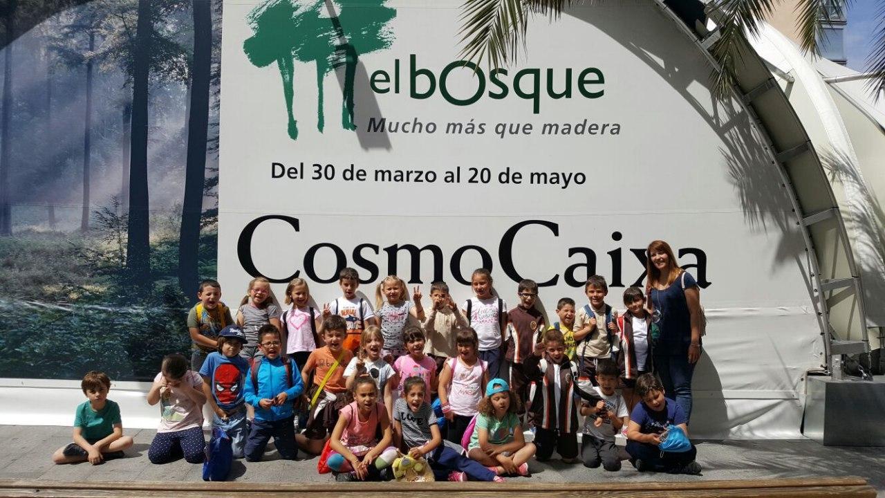 Visita a la exposición El Bosque. 1º 2º Primaria. CEIP Pinocho. 2016/17 30