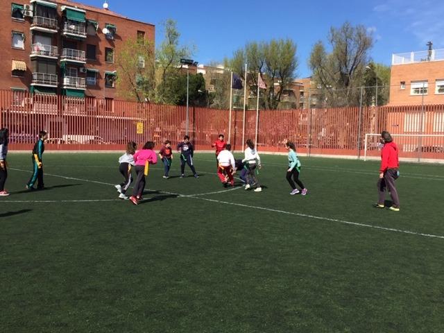 MAÑANAS ACTIVAS. Polideportivo San Vicente de Paul 1. Boxeo, Rugby, Padel y Hockey 36