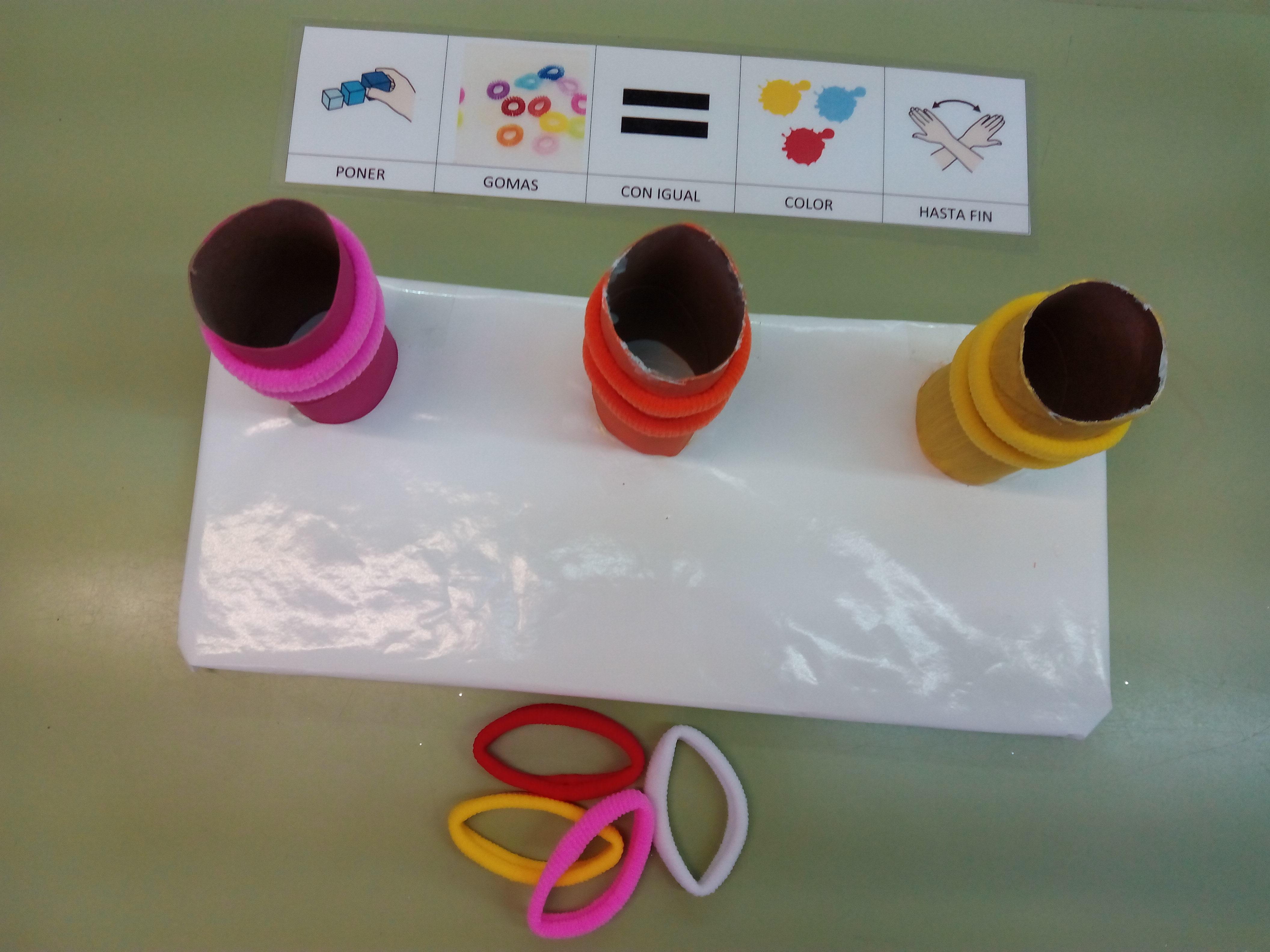 Seminario:material manipulativo para infantil y primaria adaptado a alumnos con T.E.A. 6