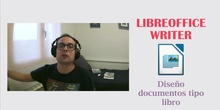 LibreOffice Writer - Documentos tipo libro