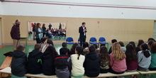 Visita del Alcalde de Torrejón de Ardoz al CEIP Andrés Segovia 2