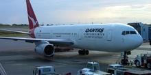 Boeing 767 de Quantas, Australia