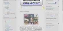 Moodle 2: Cómo crear una tarea de Texto en línea