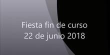 Festival fin de curso 2018