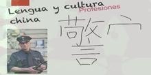Chino: profesiones