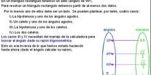 Trigonometría: 47. Resolucion triángulos