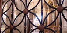 Detalle de una reja de la Catedral de Cuenca, Castilla-La Mancha