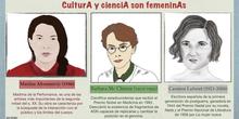 CulturA y cienciA son femeninAs