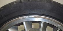 Neumático de perfil bajo. Detalle de especificaciones