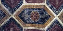 Pintura de la bóveda del ábside de San Julián de los Prados, Ovi