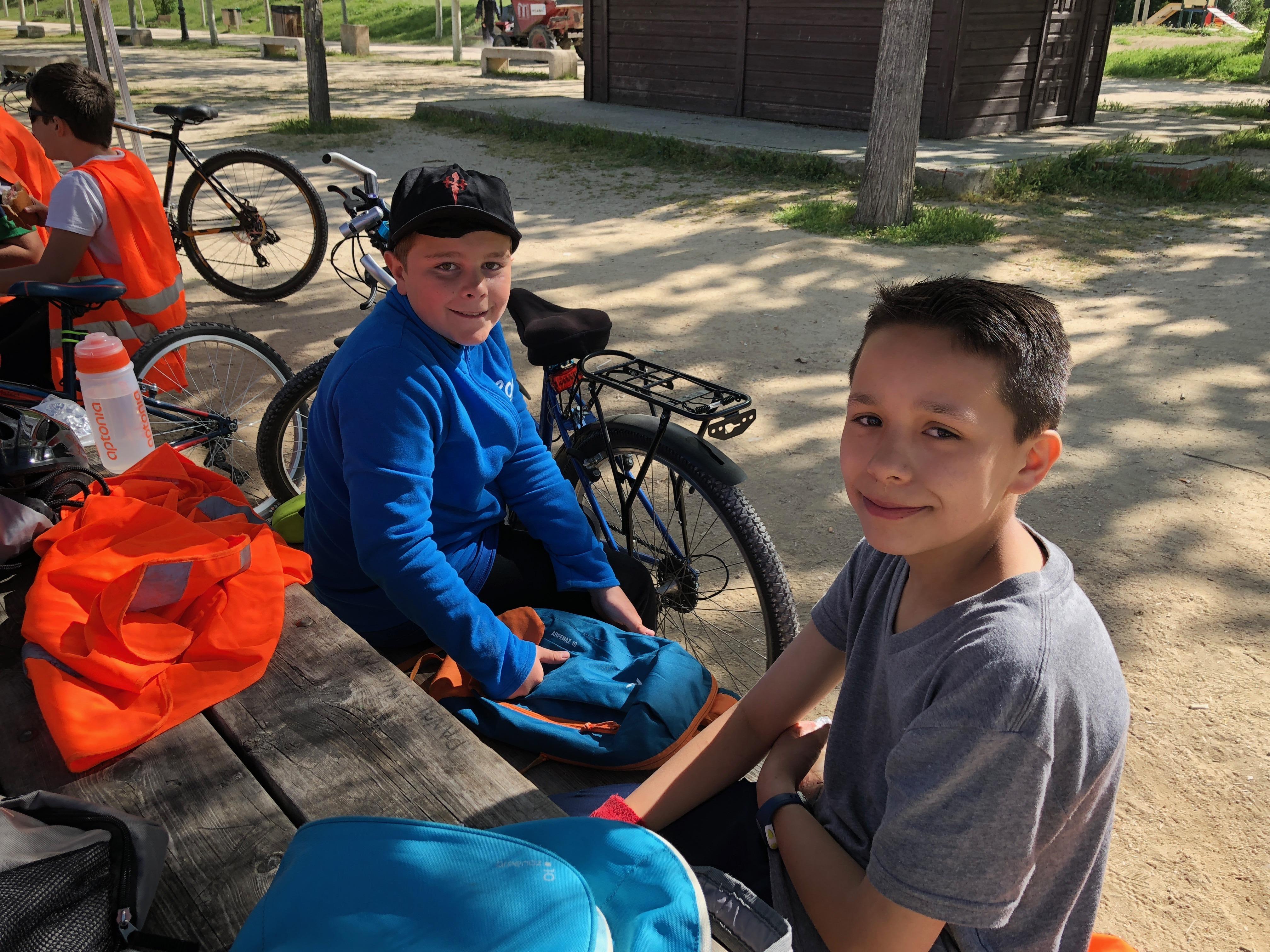 Salida en bicicleta a Polvoranca 21